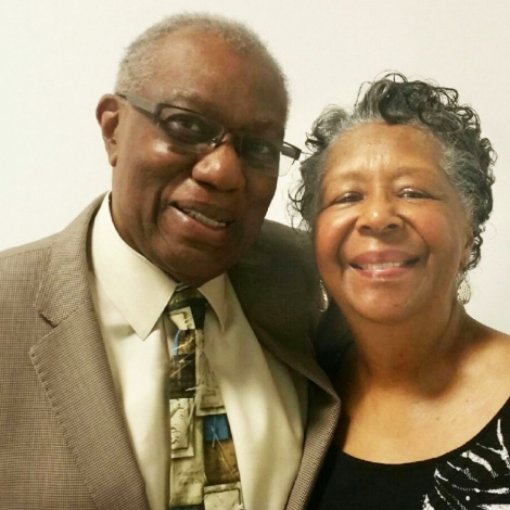 Pastor Harrison and Beverly Benton